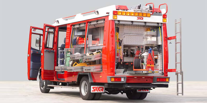 Berbagai Jenis Kendaraan Pemadam Kebakaran Agen Pemadam Api