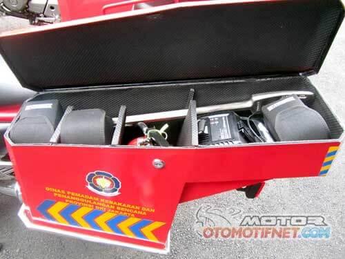 Motor Pemadam Kebakaran Rescue Jakarta