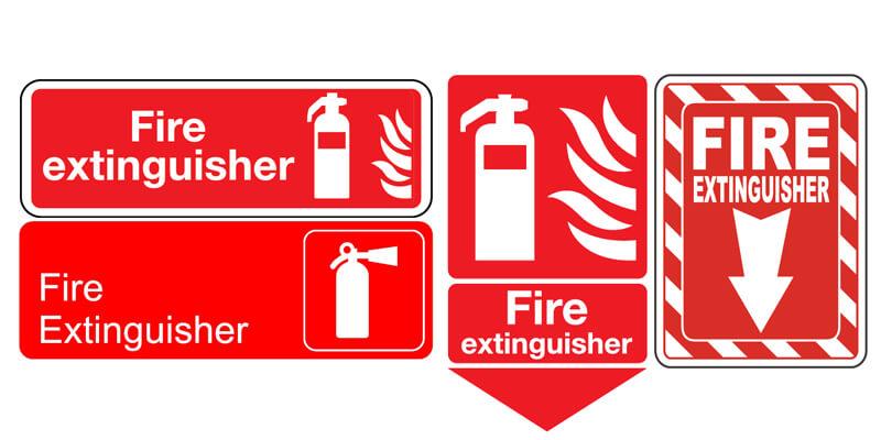 Standar Sign APAR Tanda Alat Pemadam Api Agen Pemadam Api
