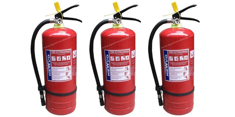 Tabung Pemadam Api Newvo 3 Kg Agen Pemadam Api